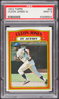 Baseball Cards:Singles (1970-Now), 1972 Topps Cleon Jones IA #32 PSA Mint 9....