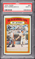Baseball Cards:Singles (1970-Now), 1972 Topps Bud Harrelson IA #54 PSA Mint 9....
