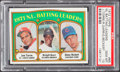 Baseball Cards:Singles (1970-Now), 1972 Topps NL Batting Leaders #85 PSA Gem Mint 10 - Pop Three....