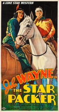 "Movie Posters:Western, The Star Packer (Lone Star, 1934). Three Sheet (40.5"" X 76"").. ..."