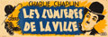 """Movie Posters:Comedy, City Lights (United Artists, R-1935). French Banner (12.5"""" X35.5"""").. ..."""