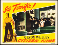 "Citizen Kane (RKO, 1941). Lobby Card (11"" X 14"")"