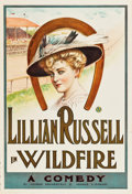 "Movie Posters:Drama, Wildfire (Theatrical Poster, c.1906-1908). One Sheet (28"" X 41"")....."