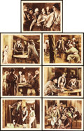 "Movie Posters:Adventure, Treasure Island (Paramount-Artcraft, 1920). Lobby Cards (7) (11"" X14"").. ... (Total: 7 Items)"