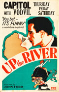 "Movie Posters:Crime, Up the River (Fox, 1930). Window Card (14"" X 22"").. ..."