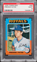 Baseball Cards:Singles (1970-Now), 1975 Topps Mini Freddie Patek #48 PSA Mint 9....