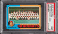 Baseball Cards:Singles (1970-Now), 1975 Topps Mini Cardinals Team #246 PSA Mint 9....