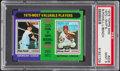 Baseball Cards:Singles (1970-Now), 1975 Topps Mini 1970 MVP's Powell/Bench #208 PSA Mint 9....