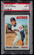 Baseball Cards:Singles (1970-Now), 1970 Topps Hector Torres #272 PSA Mint 9....