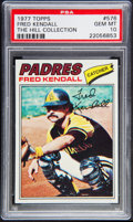 Baseball Cards:Singles (1970-Now), 1977 Topps Fred Kendall #576 PSA Gem Mint 10 - Pop One. ...