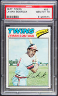 Baseball Cards:Singles (1970-Now), 1977 Topps Lyman Bostock #531 PSA Gem Mint 10....