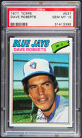 Baseball Cards:Singles (1970-Now), 1977 Topps Dave Roberts #537 PSA Gem Mint 10....