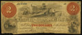 Obsoletes By State:Maryland, Baltimore, MD - Bank of Commerce $2 Mar. 1, 1862 A5 Altered Note. ...