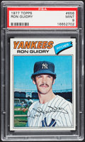 Baseball Cards:Singles (1970-Now), 1977 Topps Ron Guidry #656 PSA Mint 9....