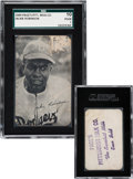 Baseball Cards:Singles (1940-1949), Unique 1949 Page's Pittsburgh Milk Co. Bread Jackie Robinson, Purple Stamp SGC 10 Poor 1. . ...