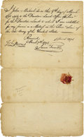 Autographs:Military Figures, Revolutionary War Soldier Autograph Document Signed. ...