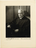 Autographs:Statesmen, Harold H. Burton, Associate Justice of the United States SupremeCourt, Signed Photograph...