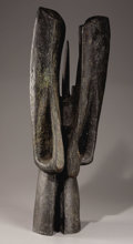 Sculpture, Ancestral Butterfly. Alicia Perez Penalba, French (1918-1982). Bronze. Incised with artist's signature. Numbered 1...