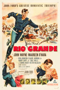 "Movie Posters:Western, Rio Grande (Republic, 1950). One Sheet (27"" X 40.5"").. ..."