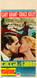 "Movie Posters:Hitchcock, To Catch a Thief (Paramount, 1955). Italian Locandina (13"" X27.5"").. ..."