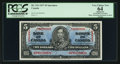 Canadian Currency: , BC-23S $5 1937 Specimen. ...
