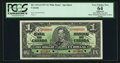 Canadian Currency: , BC-21S-i $1 1937 Narrow Signature Panel Specimen . ...