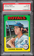 Baseball Cards:Singles (1970-Now), 1975 Topps Cookie Rojas #169 PSA Gem Mint 10 - Pop Two....