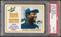 Baseball Cards:Singles (1970-Now), 1974 Topps Hank Aaron #1 PSA Mint 9....