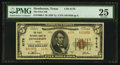 National Bank Notes:Texas, Henderson, TX - $5 1929 Ty. 2 The First NB Ch. # 6176. ...