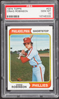 Baseball Cards:Singles (1970-Now), 1974 Topps Craig Robinson #23 PSA Gem Mint 10....