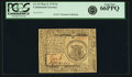 Colonial Notes:Continental Congress Issues, Continental Currency May 9, 1776 $1 Fr. CC-31. PCGS Gem New 66PPQ.....
