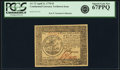 Colonial Notes:Continental Congress Issues, Continental Currency April 11, 1778 $5 Yorktown Issue Fr. CC-72.PCGS Superb Gem New 67PPQ. . ...