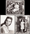 "Movie Posters:Drama, The Secret Garden (MGM, 1949). Photos (3) (10"" X 13""). Drama.. ...(Total: 3 Items)"