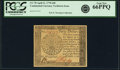 Colonial Notes:Continental Congress Issues, Continental Currency April 11, 1778 $40 Yorktown Issue Fr. CC-78. PCGS Gem New 66PPQ.. ...