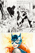 "Original Comic Art:Panel Pages, Jim Lee and Scott Williams Batman #614 ""Hush"" Joker Page 8Original Art (DC, 2003)...."