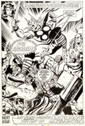 Original Comic Art:Splash Pages, John Buscema and Tom Palmer Thor #277 Splash Page 17Original Art (Marvel, 1978)....