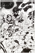 Original Comic Art:Covers, Jim Lee and Scott Williams Fantastic Four V2#6 CoverOriginal Art (Marvel, 1997)....