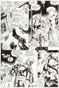 "Original Comic Art:Panel Pages, Joe Madureira and Dan Green Astonishing X-Men #1 ""Once MoreWith Feeling"" Page 4 Original Art (Marvel, 1995)...."