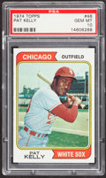 Baseball Cards:Singles (1970-Now), 1974 Topps Pat Kelly #46 PSA Gem Mint 10....