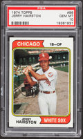 Baseball Cards:Singles (1970-Now), 1974 Topps Jerry Hairston #96 PSA Gem Mint 10 - Pop One....