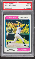 Baseball Cards:Singles (1970-Now), 1974 Topps Billy Williams #110 PSA Mint 9....