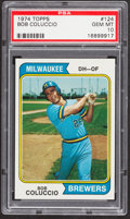 Baseball Cards:Singles (1970-Now), 1974 Topps Bob Coluccio #124 PSA Gem Mint 10....