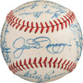 Baseball Collectibles:Balls, 1948 New York Yankees Team Signed Baseball....