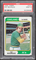 Baseball Cards:Singles (1970-Now), 1974 Topps Pat Bourque #141 PSA Mint 9....