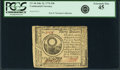Colonial Notes:Continental Congress Issues, Continental Currency July 22, 1776 $30 Fr. CC-46. PCGS ExtremelyFine 45.. ...