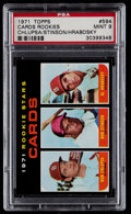 Baseball Cards:Singles (1970-Now), 1971 Topps Cards Rookies #594 PSA Mint 9....