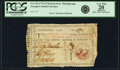 Colonial Notes:Georgia, Georgia 1776 Maroon Seal $2 Floating Jugs Fr. GA-72b. PCGS VeryFine 20 Apparent.. ...