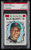 Baseball Cards:Singles (1970-Now), 1970 Topps Willie McCovey AS #450 PSA Mint 9....