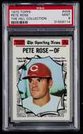 Baseball Cards:Singles (1970-Now), 1970 Topps Pete Rose AS #458 PSA Mint 9 - None Higher....