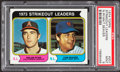 Baseball Cards:Singles (1970-Now), 1974 Topps Strikeout Leaders #207 PSA Mint 9....